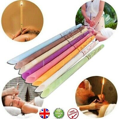 Hopi Ear wax remover candle removal candles hollow tube excellent quality UK