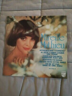 Disque vinyle 33T Mireille Mathieu  Apprends-Moi 1975 Philips made in France