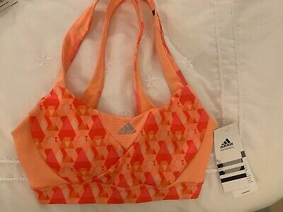 BNWT Addidas XS Gym Cropped Crop Sports Bra Top