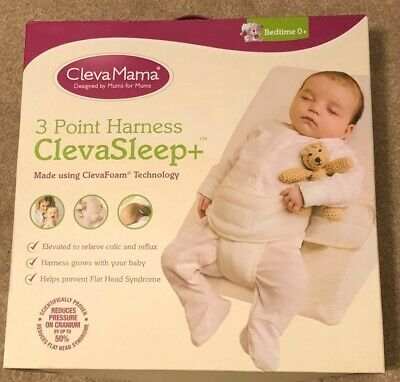 Clevamama Clevasleep Elevated Foam Wedge Pillow For Babies