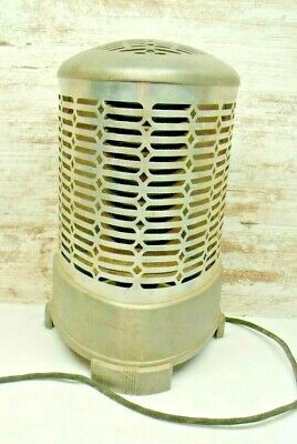 Antique Wesix SPACE HEATER ~ Steampunk ~ Industrial ~ Art Deco ~ Man Cave Metal