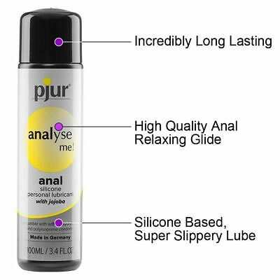 Pjur Analyse Me Desensitizing Relaxing Anal Glide 100ml Silicone Lube Lubricant
