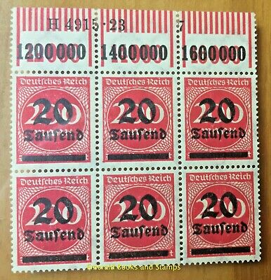 EBS Germany 1923 - Inflation Overprint - Michel 282 II HAN - MNH** cv $24