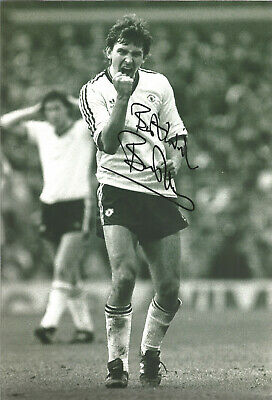 Bryan Robson Manchester United signed authentic 12x8 football photograph SS534A
