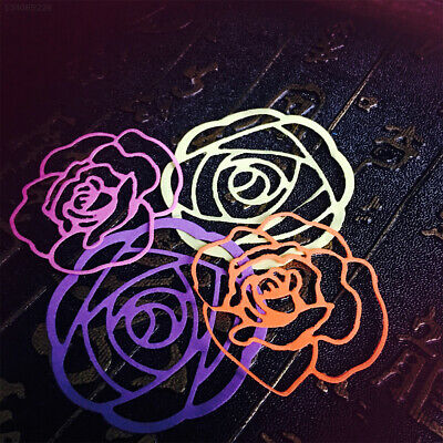 Rose Flower Embossing Stencils Scraper Card Cutting Dies DIY Home School Gift