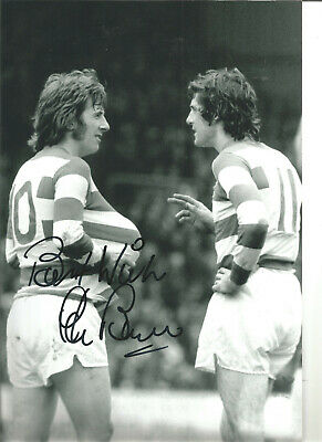 Stan Bowles QPR hand signed 12 x 8 inch authentic football photograph SS573