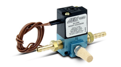 AEM Boost Control Solenoid with 1/8 inch NPT P/N: 30-2400 *UK STOCK*