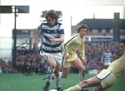 Stan Bowles QPR hand signed 12 x 8 inch authentic football photograph SS573B