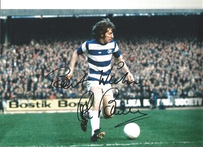 Stan Bowles QPR hand signed 12 x 8 inch authentic football photograph SS573C