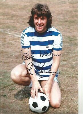 Stan Bowles QPR hand signed 12 x 8 inch authentic football photograph SS573G