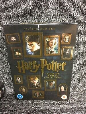 Harry Potter - Complete 8-Film Collection (2016 Edition) Good Condition. 16 Disc