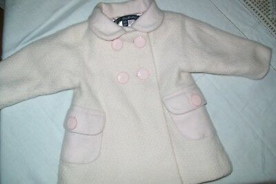 Baby girls smart coat from Lili Gaufrette age 3m - combined postage available