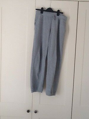 Girls Grey Track Bottoms Size Europe 170cm