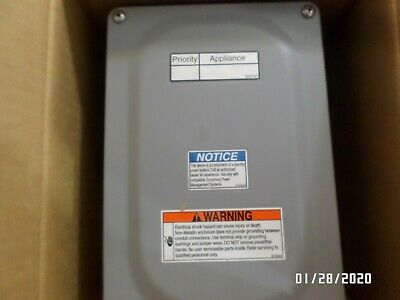 Symphony II power management system -Electrical 50amp remote module with manual