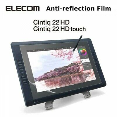 Elecom For Graphics Tablet Cintiq 22HD 22HD touch Anti-reflection Film Japan EMS