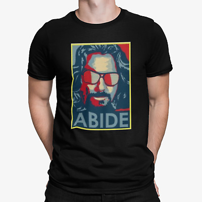 The Big Lebowski T Shirt The Dude Abide Funny Movie Cool Gift Tee 128