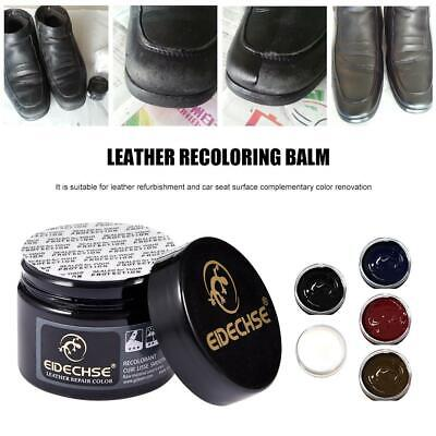 Leather Recoloring Balm Renew Restore Repair Color for Couches Car Seats Sofa