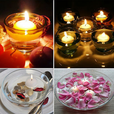 Round Romantic Floating Water Candle Table Pool Pond Bath Wedding Party Home new