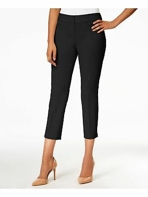 NINE WEST Womens Navy Cropped Pants 14