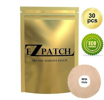 EZPatch Adhesive Patch for Freestyle Libre with Hole - Pack of 30