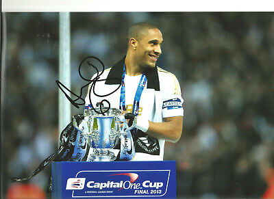 Ashley Williams Swansea hand signed 12 x 8 authentic football photograph SS588