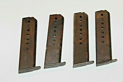 Walther P38 or P1 Magazine 8rd Original German Mag RUSTY C76
