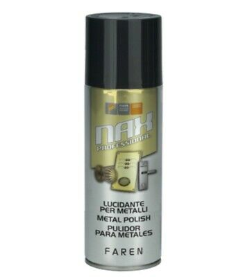 Pulitore lucidante in spray per metallo NAX Art.983003 Faren