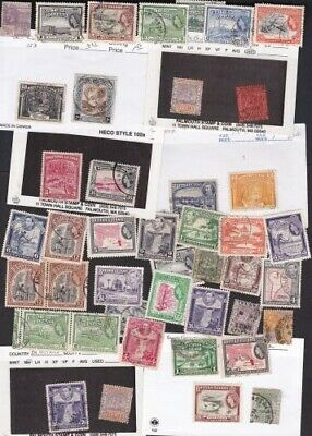 British Guiana Beautiful Collection from Old Dealer's Stock Mint/Used  *SALE*