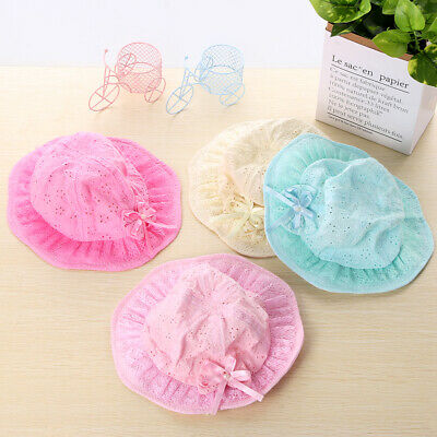 Brim Cotton Newborn Beach Cap Summer Hat Girls Bucket Hat Infant Baby Sun Hat