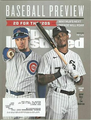 Sports Illustrated 2020 MLB Baseball Preview Cubs - Baez - White Sox - Anderson