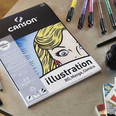 Canson Illustration Pads A4, A3