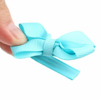 CANSHOW 2 Inch Baby Hair Clips,Tiny Hair Bows for, Multicolored, Size Small US /