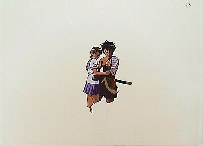 The Vision Of Escaflowne Movie Van Fanel / Hitomi Anime Production Cel 2