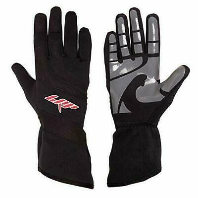 Speed Gloves LRP Kart Racing Highest protection M, Black