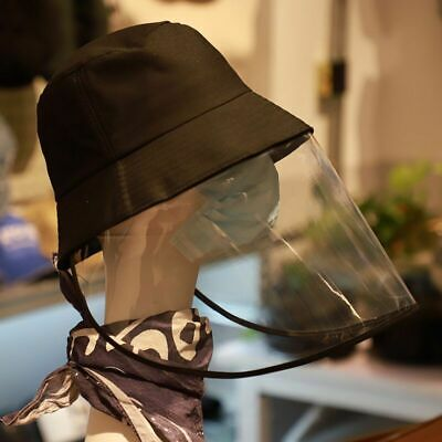 Transparent Cover Protective Cover Plastic Anti-fog Saliva Hats Face Shields