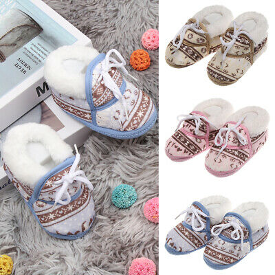 Anti-slip Toddler Baby Socks Baby First Walkers Infant Print Shoes Booties