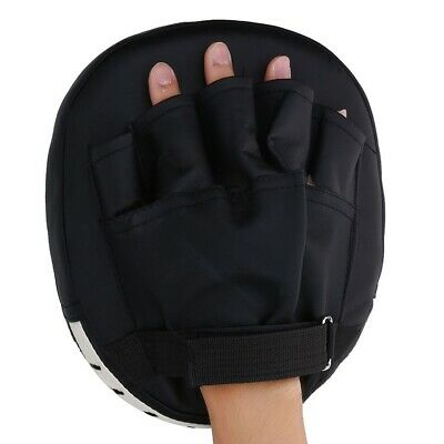 MMA Thai Muay Kick Boxing Strike Shield Pad Focus Target Training Gear Punch Bag