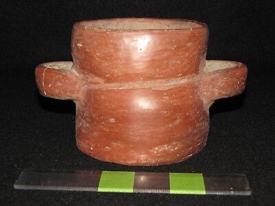 Pre Columbian, Pottery, West Mexican, Colima, Rare Offering Cup, 500 BC 200 AD