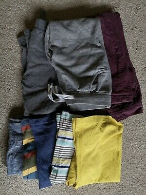 Kids Boys Clothes Bundle 8 Items Age 4-5 Years T-shirts Top Trousers