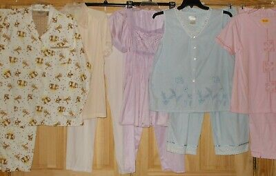 Womens 2 Pc Pajama Sets & Casual Wear All Colors Sizes Small Med Large X-Lrge 3X