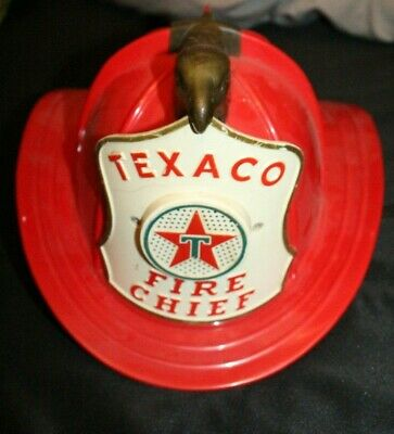 Vintage Texaco Fire Chief Hat