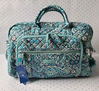 Vera Bradley ◇ DAISY DOT PAISLEY ~ Iconic Compact Weekender ◇ NWT Carry-on Tote