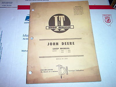 1020 1520 1530 2020 2030 Vintage John Deere Tractor I&T Shop Service Manual