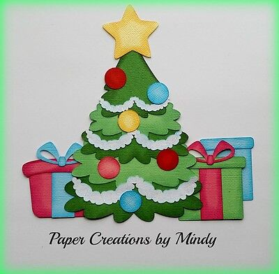 Premade Scrapbook Pages CHRISTMAS TREE EZ Layout 575