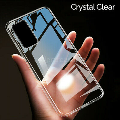 Clear Case For Samsung Galaxy S20 S20+ Plus Ultra 5G Silicone Gel Shockproof