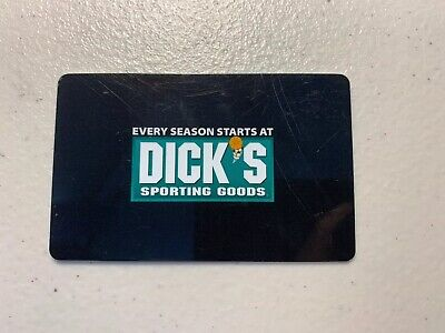 Dick's Sporting Goods Gift Card $25 Value