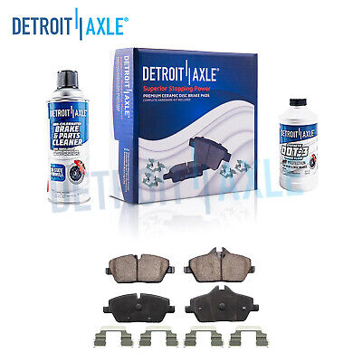 Front Ceramic Brake Pads + Hardware - 2007 2008 2009 2010 2011-2016 Mini Cooper