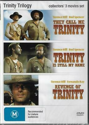 Trinity Trilogy DVD They Call Me/Still My name/Revenge New Plays Wordwide NTSC 0