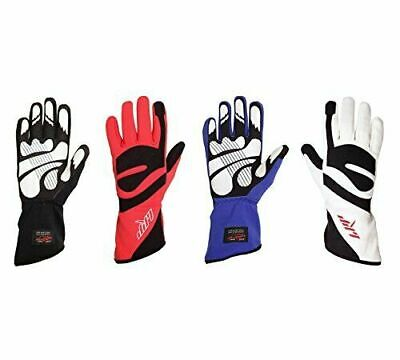 LRP Kart Racing Gloves- Freedom Gloves Highest protection (Black, S) S, Black