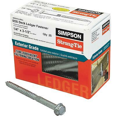 Simpson Strong-Tie Strong-Drive SDS Ledger Deck Screw